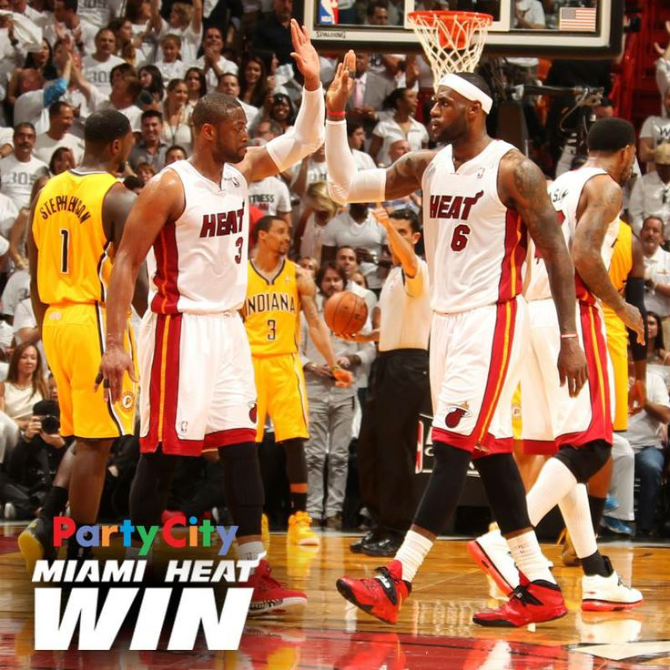 Party City! Miami Heat Win: Lebron James & Miami Heat overcome a 15-point deficit to claim a 99-87 Game 3 victory over the Indiana Pacers.