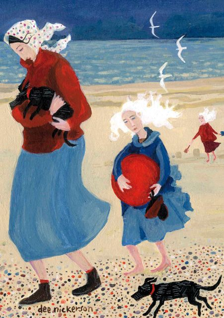 'Time To Go', by Dee Nickerson. Published by Green Pebble (UK). Distributed by Art Publishing (Australia) www.greenpebble.co.uk www.artpublishing.com.au