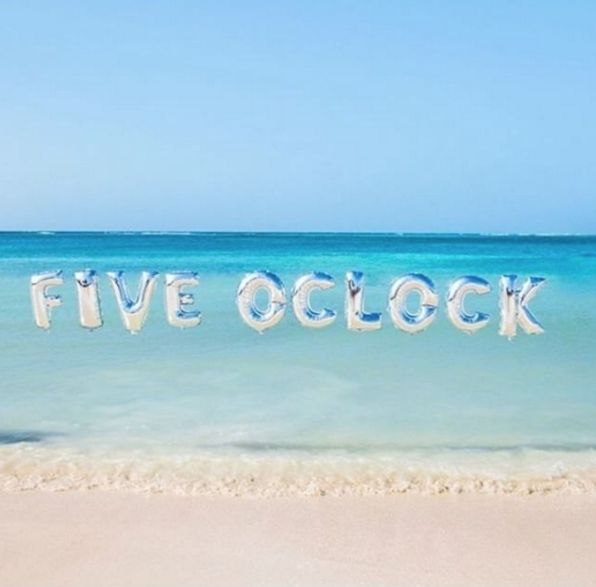 Five o'clock on a Friday… is there anything better? ✖