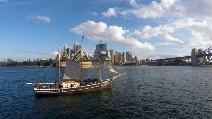 Sydney Harbour Cruise Timelapse