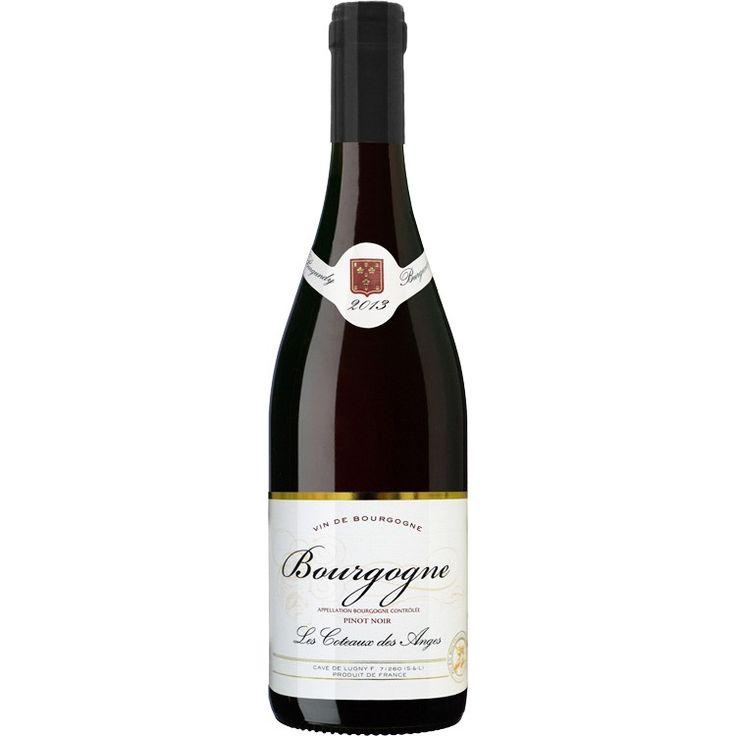 Bourgogne pinot noir 2013 les coteaux des anges french