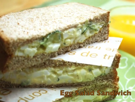 Healthy & Easy Egg Salad Sandwich | Snacks, Sides & Appetizers | Pint...