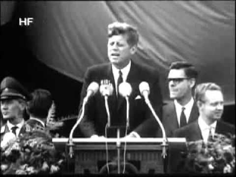 Ich Bin Ein Berliner  			 Fifty years ago, John F. Kennedy recast the Cold War in an unforgettable speech in Berlin.