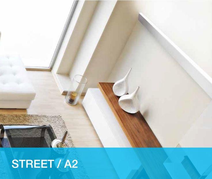 LED aluminium profile for interiors. More info http://issuu.com/atenaluxsrl/docs/brochure_street_hq
