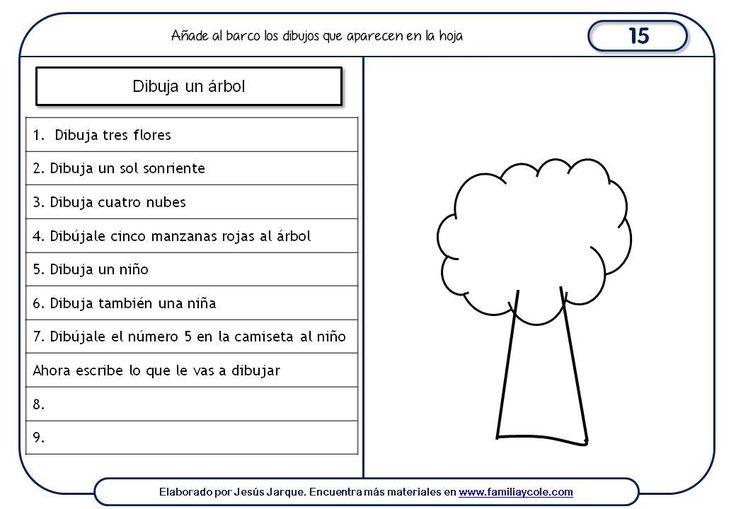 Paquete de 15 fichas de comprensión de instrucciones escritas para niños, que se pueden descargar e imprimir gratuitamente, diseñadas para 7 y 8 años