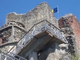Poenari Castle - The real Dracula's castle in Transylvania by Carole