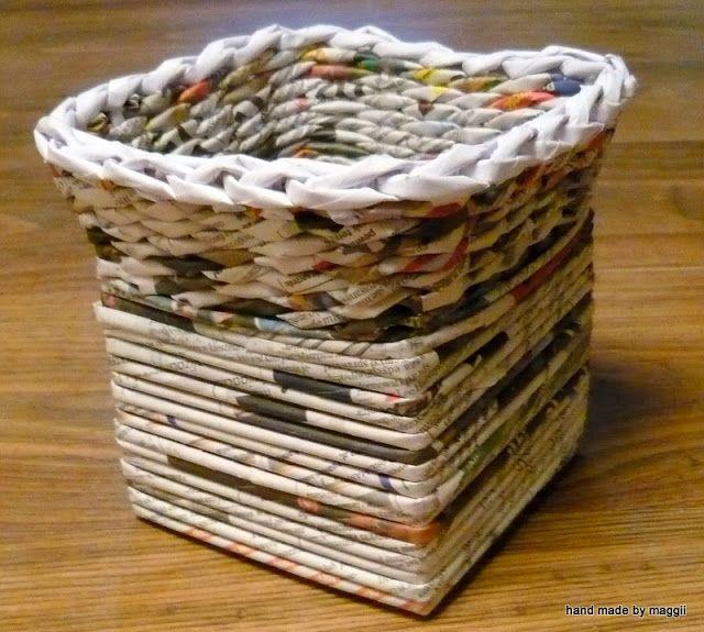 Les 539 meilleures images propos de creations en papier - Bricolage en papier journal ...
