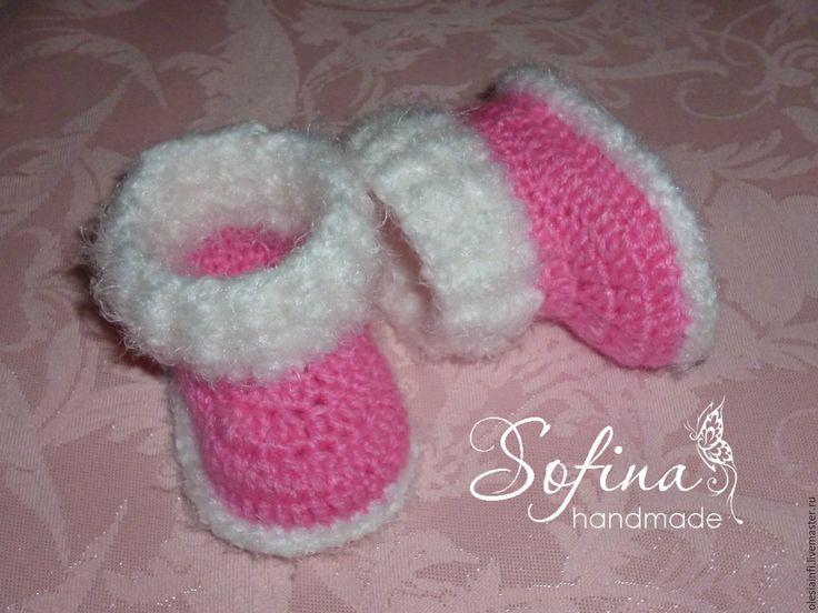 Купить Пинетки ботиночки для кукол Беби Бон - комбинированный, пинетки, пинетки для куколы, обувь
