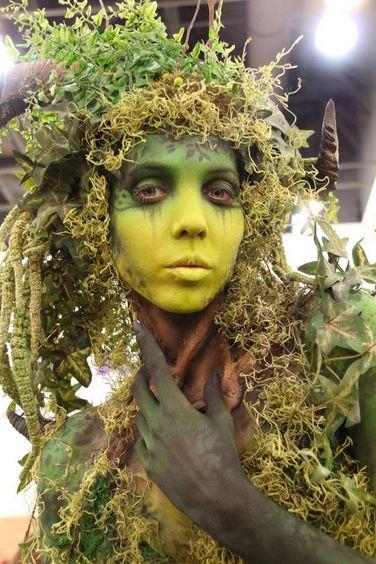 Kryolan HD, BodyArt and Special FX make-up at IMATS LA.