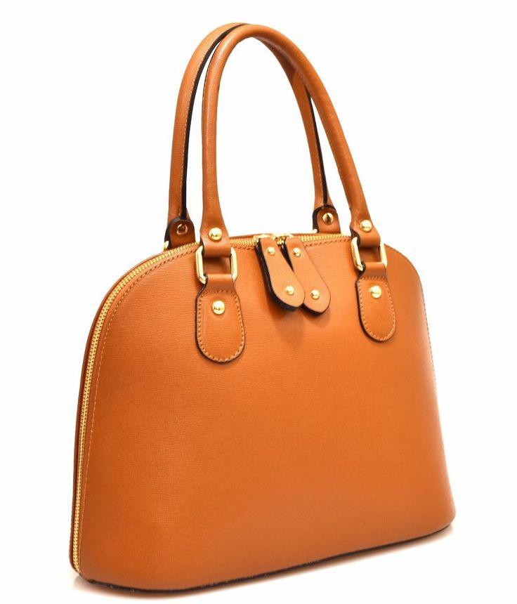 HAND BAG 12 CUOIO Pelle Borsa Mano Tracolla Shopping Donna Primavera Estate 2017