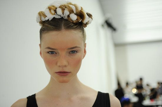 Wedding Hair and Makeup Inspiration From Fashion Week