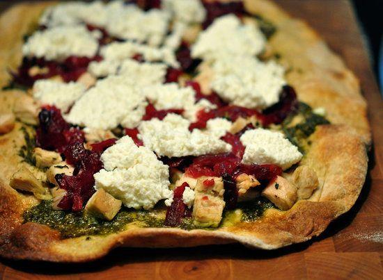 Turkey and Cranberry Leftover Pizza Recipe