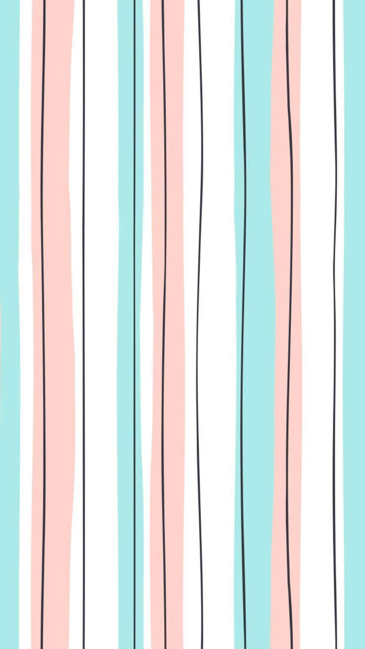 8f6909fc22a11 Mint and pink stripes | Fun Patterns in 2019 | Screen wallpaper ...