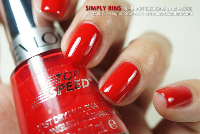 Revlon Top Sd Fire In My Helmer Pinterest Nails And Dry Fast
