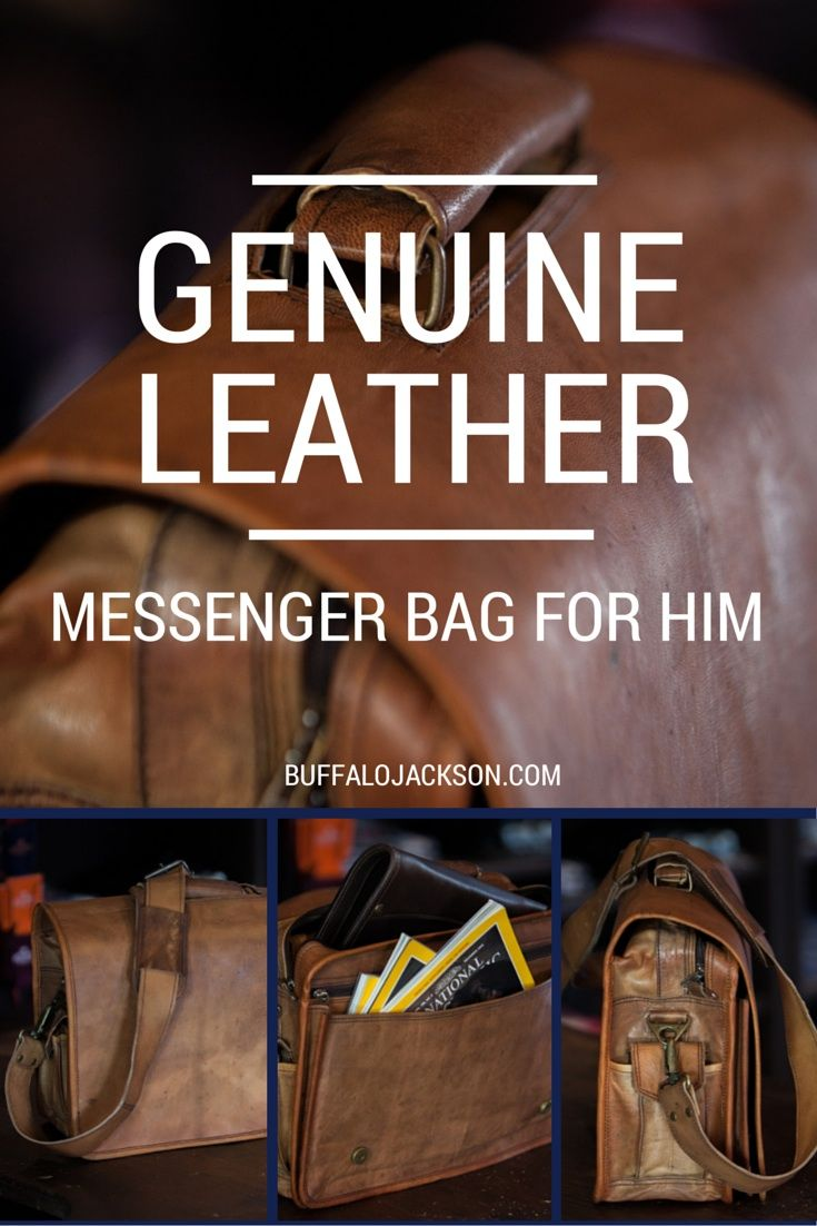 The Kipling Leather Messenger Bag is made from genuine leather with antique brass rivets and hardware. The full grain leather is finished and tanned with a camel color.  mens fashion   messenger bag leather   mens business casual