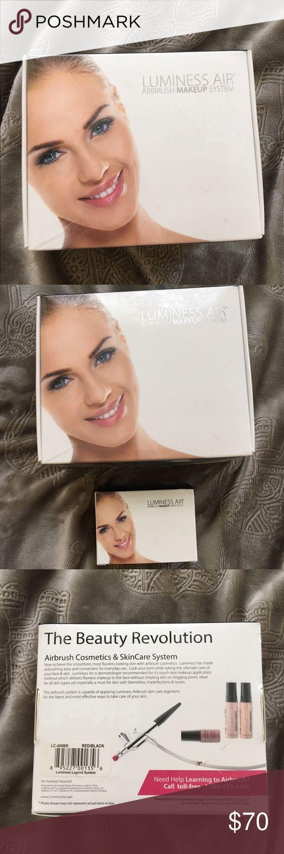 Lumpiness Air Airbrush Makeup System! Airbrush makeup system with makeup! Brand new! Makeup
