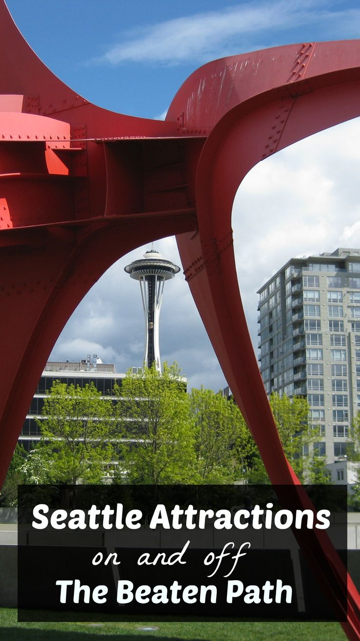 "Things to do in Seattle, including both the major ""must-dos"" as well as some lesser knowns!"