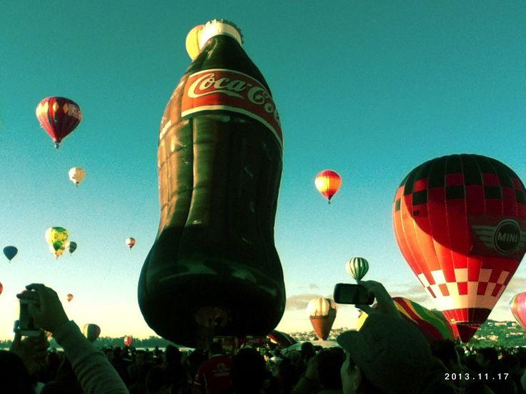 Globo de Coca Cola Lalalalalala