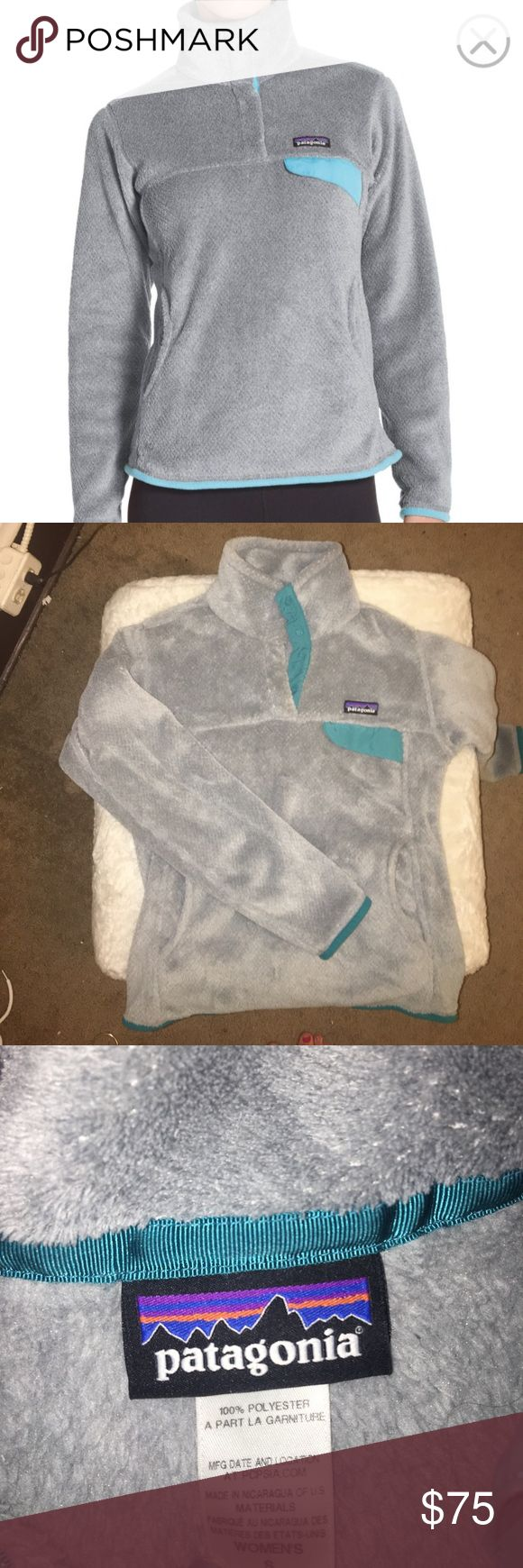 Patagonia Re-Tool Snap Pullover Patagonia retool fleece lightly worn Patagonia Jackets & Coats