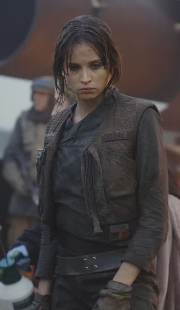 Jyn Erso costume - Rogue One Star Wars Celebration sizzle reel
