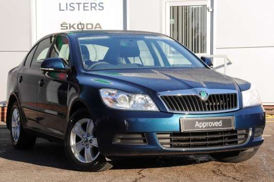 Used 2012 (62 reg) Blue Metallic Skoda Octavia 1.6 TDI CR SE 5dr for sale on RAC Cars