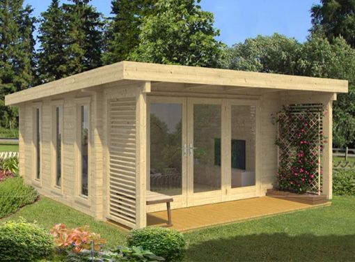 exeter 2 log cabin kits garden cabin garden office log cabins for sale uk