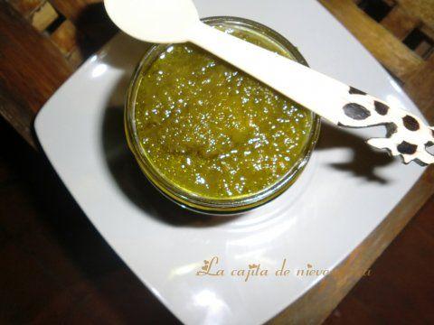 Recetas caseras : Mermelada de pimientos verdes
