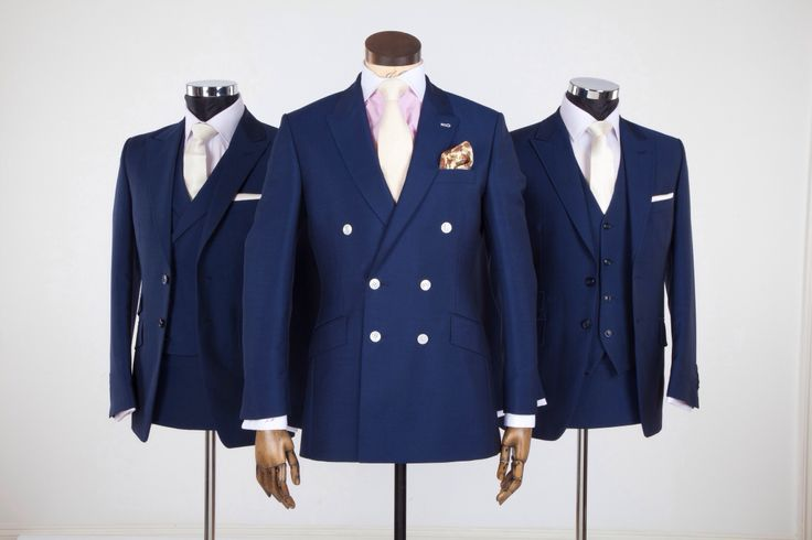 Double breasted wedding suit by Jack Bunneys | Men's Suits | Pinterest