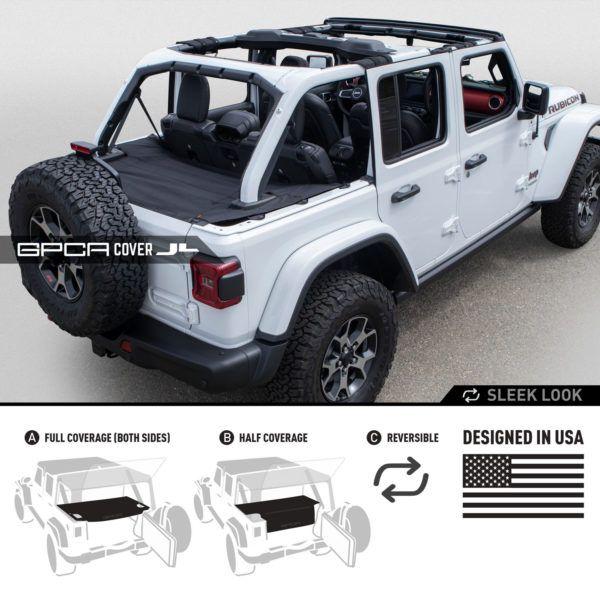Jeep Wrangler Jl Unlimited Cargo Cover Pro Wrangler Jl Jeep
