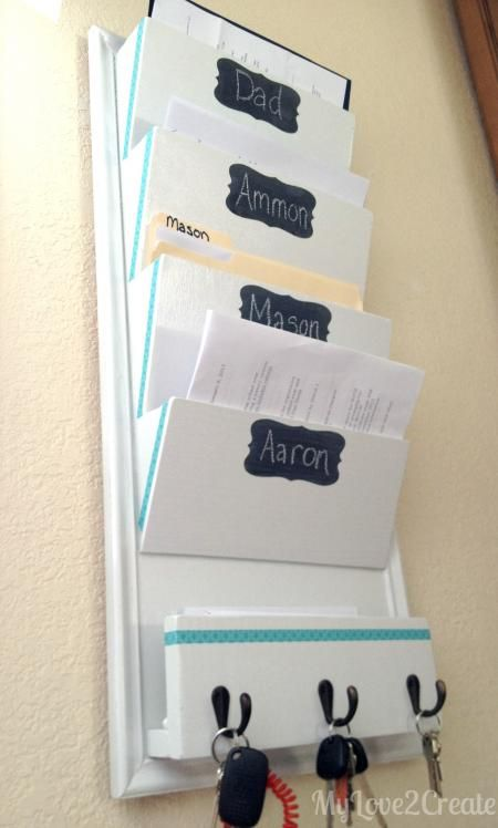 Family File System | Do It Yourself Home Projects from Ana White