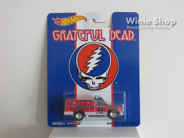 GRATEFUL DEAD TRUCK - 2014 HOT WHEELS GRATEFUL DEAD SERIES