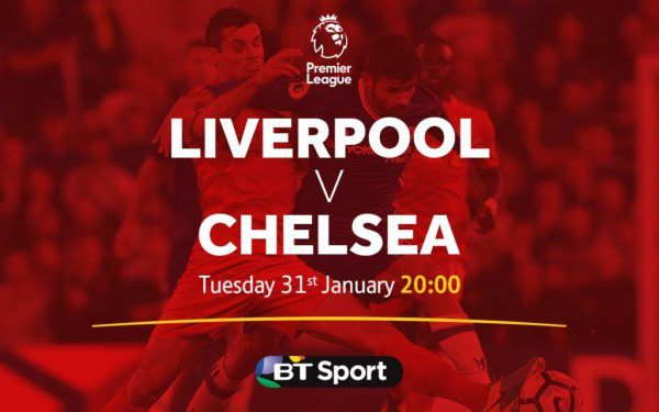 Where to find Liverpool vs. Chelsea on US TV and streaming   If youre trying to find out how you can watch Liverpool vs. Chelsea youve come to the right place.  After a busy FA Cup weekend the Premier League returns on Tuesday with a massive clash between high-flying Chelsea and long-suffering Liverpool. The Reds will hope to bounce back from a dreadful week of losses in the League Cup and FA Cup. Chelsea meanwhile will hope to continue chugging along in their race to try to win the Premier…
