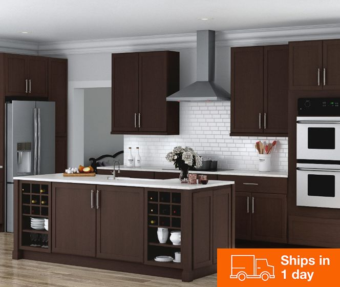 Kitchen Cabinets Color Gallery Brown Kitchen Cabinets Home Depot Kitchen Beautiful Kitchen Cabinets