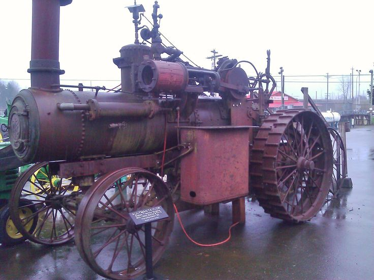 Aultman Taylor steam tractor at Western Heritage Center Museum in Monroe, WA