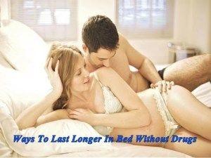 Pills That Make Sex Last Longer