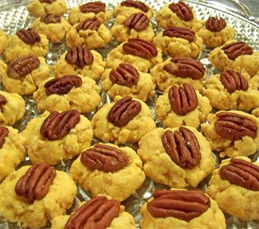Cheesy Buttery Pecan Wafers Recipe
