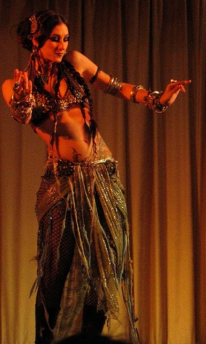American Tribal Belly Dancer Rachel Brice