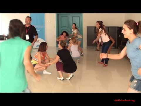 Yaratıcı Drama Semineri - Dikkat Oyunu (2012) Elmalı/Antalya - YouTube