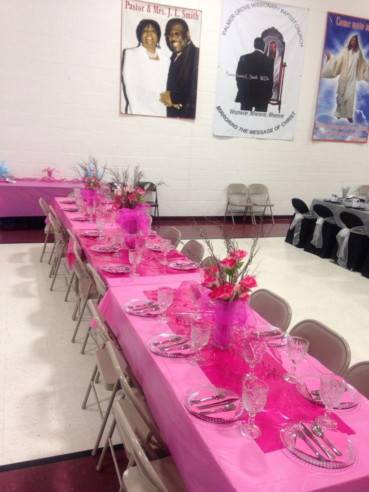 Pink Table Decorations Denises Rainbow Tea Table
