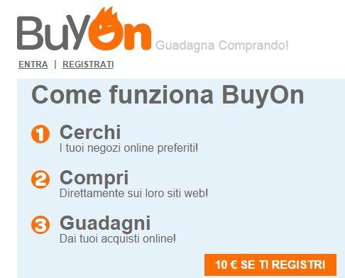 #BuyOn: #guadagna comprando grazie al #cashback