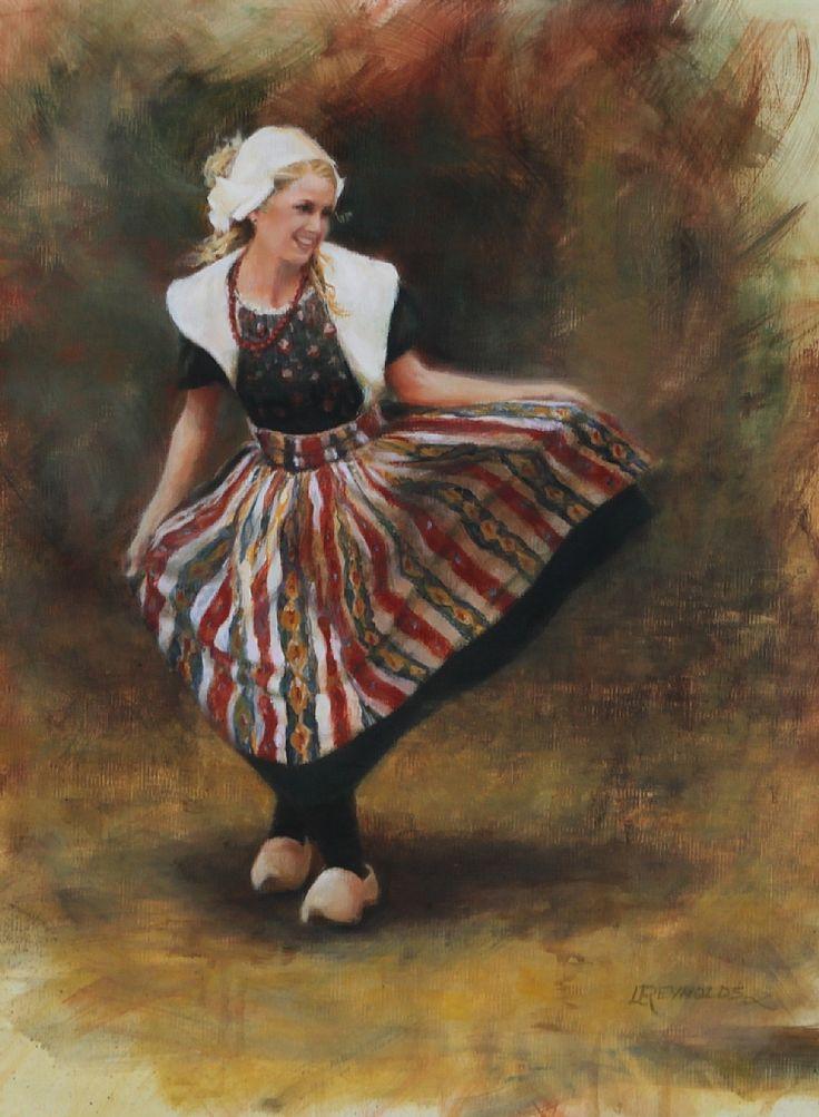 KLOMPEN DANCER, by LINDA REYNOLDS