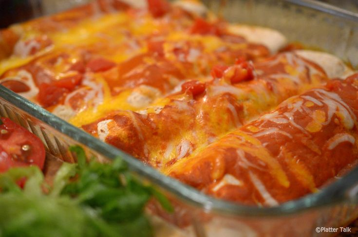 Steak Enchiladas from Platter Talk Please subscribe here and never miss a recipe: http://eepurl.com/0P9p5