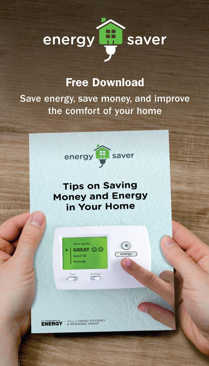 Save energy, save money, and improve the comfort of your home   EnergySaver.gov #saveenergy #savemoney