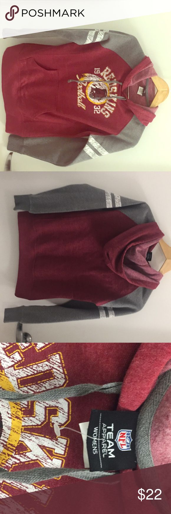 Women's Redskins Hoodie (Size S ) NFL Apparel redskins Hoodie for women NFL Sweaters