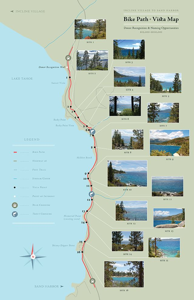 Map Of Oregon Highways%0A Partners  Tahoe Transportation District  Nevada Division of State Parks   Tahoe Regional Planning Agency