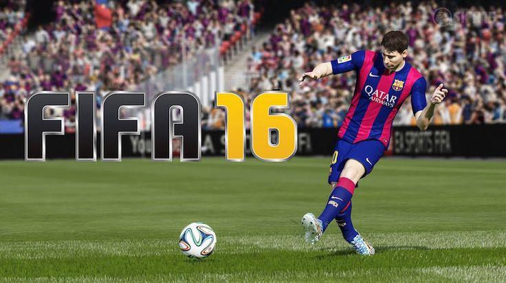 """Finalmente muitos fãs de jogos de vídeo de esportes podem assistir esporte o novo título de futebol da EA Sports. """"FIFA 16 Demo"""""""