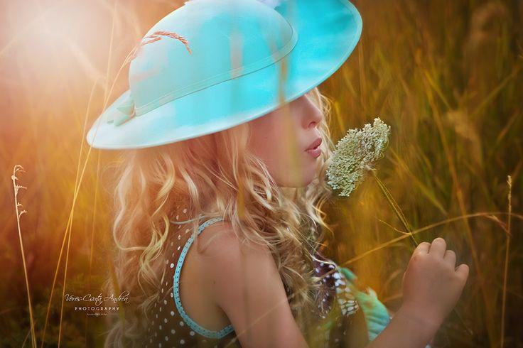 blue, turquoise, sunrise, summer, hat, flower, csutafoto