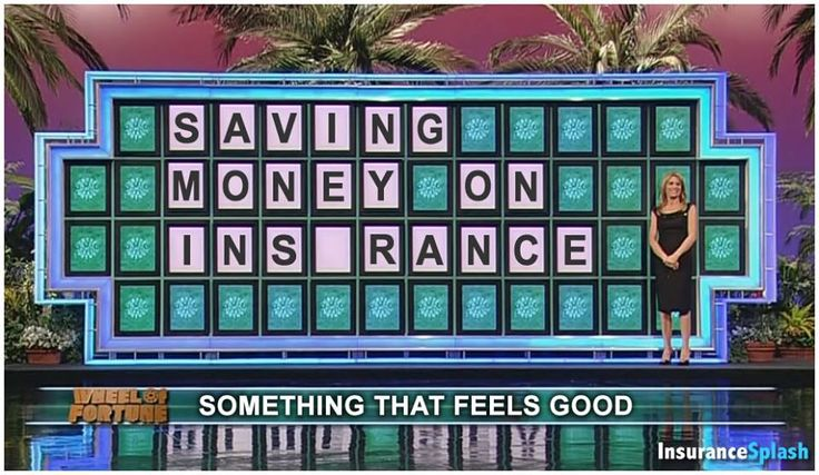 Can you solve the puzzle?  (Hint: You'll need to buy a vowel) #Insurance #Humor via @InsuranceSplash