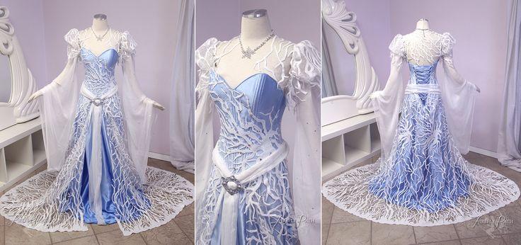 The Snow Queen by Lillyxandra.deviantart.com on @DeviantArt