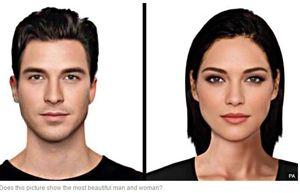 Express.co.uk los rasgos perfectos de hombre y mujer lo que los hace los mas bellos .